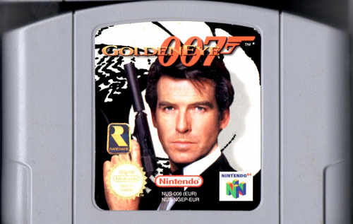 N64 Games - Goldeneys 007 cartridge