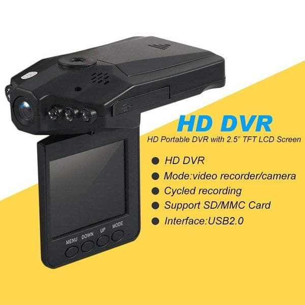 Portable HD DVR Dash Cam