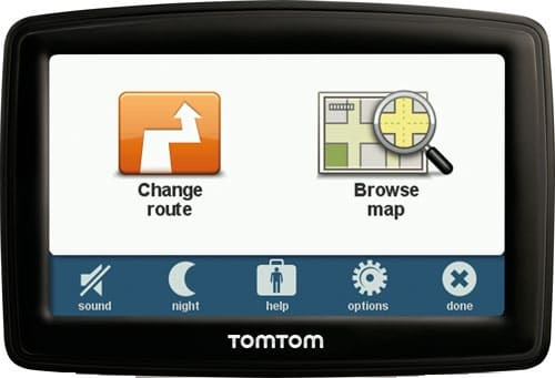TomTom XL IQ Routes Edition 2 Sat-Nav Review 2 - menu